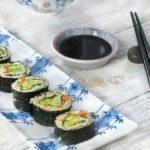Суши с овощами